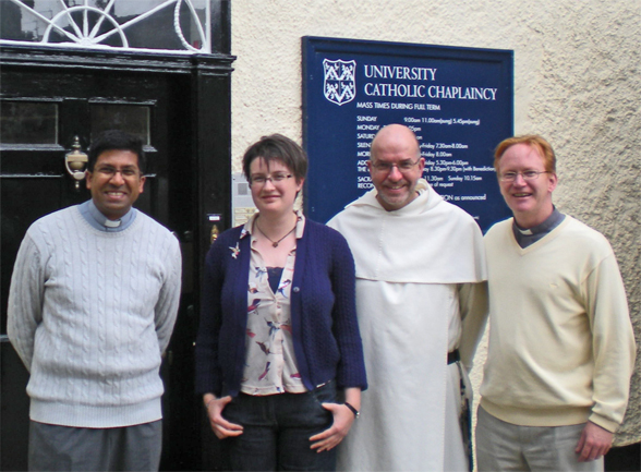 The Chaplaincy Team 2011–2012