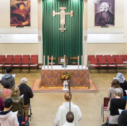 ♱ 11.00am Sunday Mass (sung) in the Newman Room, Oxford University Catholic Chaplaincy