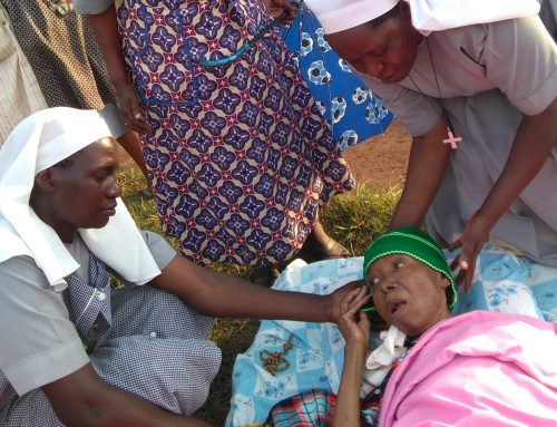 Your donations helped the Elderly Sisters in Tanzania Earthquake Repairs