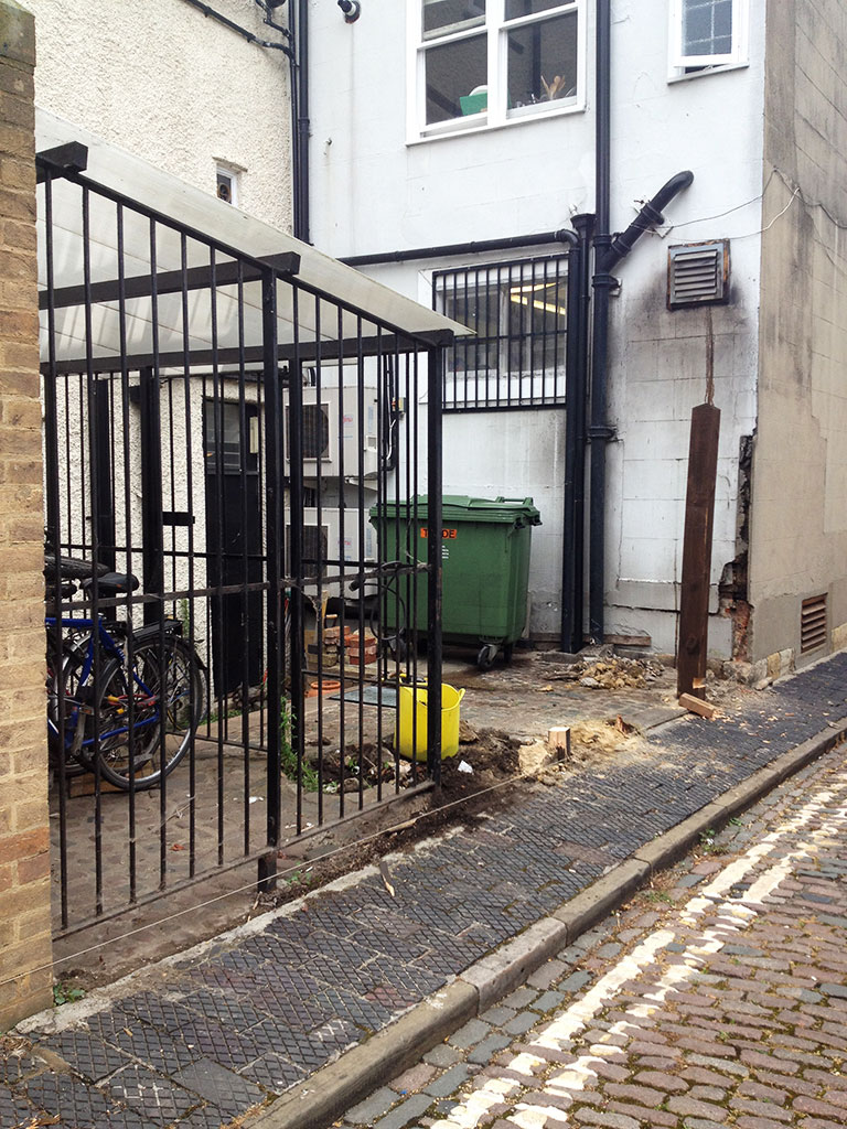 Fencing-down-bike-cage-revealed