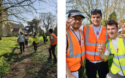 Student Cross: Journey to Walsingham, 3rd-12th April 2020