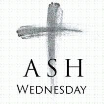 Ash Wednesday: Mass at 6pm